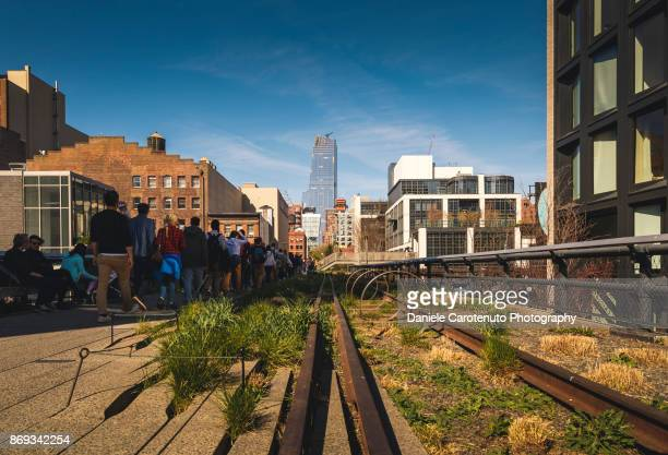 the high line - daniele carotenuto stock pictures, royalty-free photos & images