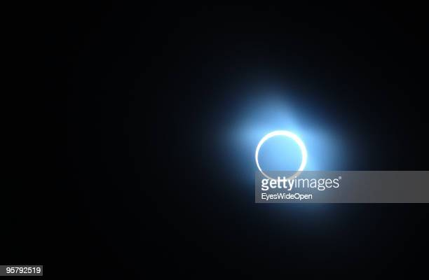 The highlight of the rare Annular Solar Eclipse on January 15 2010 at the central stadium of Thiruvananthapuram in Kerala South IndiaThis rare...
