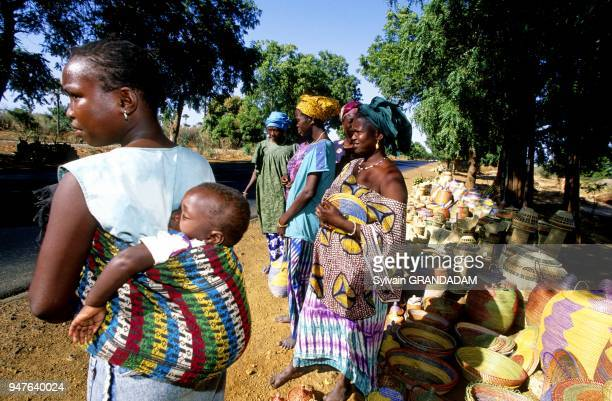 The Highway Dakar to Ziguinchor Cayor Senegal