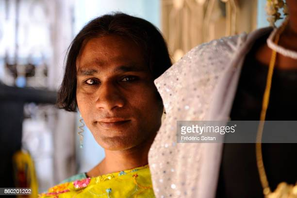 The Hijra community of Mumbai in Andheri Indian hijras or eunuchs adopt a feminine gender identity women's clothing and other feminine gender roles...