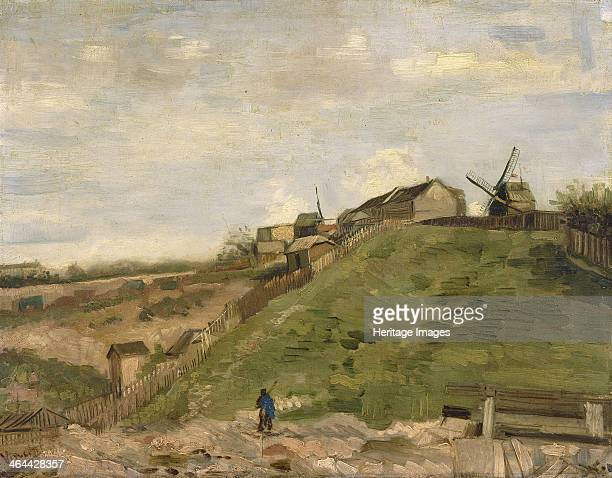 The hill of Montmartre with stone quarry 1886 Found in the collection of the Van Gogh Museum Amsterdam