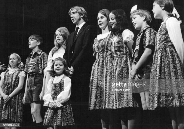 The Hills Are Alive' The Von Trapp family rehearses for performance at the Salzburg music festival in a scene from 'The Sound of Music' The musical...