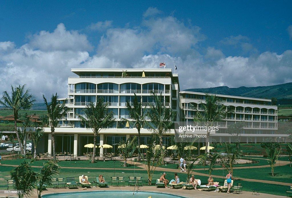The Hilton Hotel In Maui Hawaii Usa July 1967