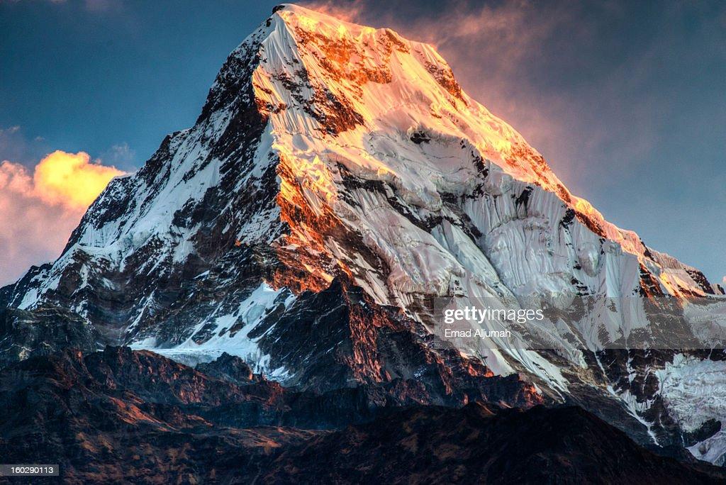 The Himalayas, Nepal : Stock Photo