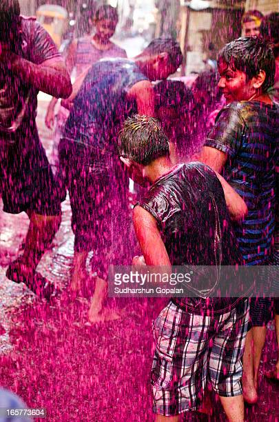 CONTENT] The Hindu festival of Holi celebrates the beginning of spring Holi falls on the last full moon day of the lunar month Phalguna which was on...