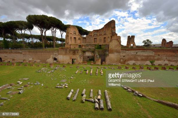 The Hippodrome, Palace of Domitian on Palatine Hill, Rome, Italy