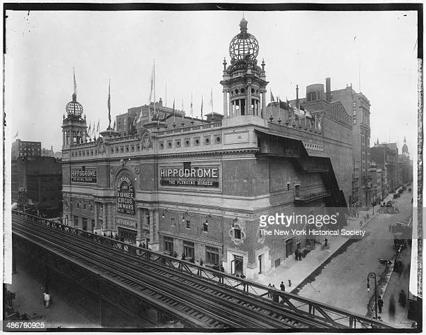 The Hippodrome Sixth Avenue between 43rd Street and 44th Street New York New York mid 1900s