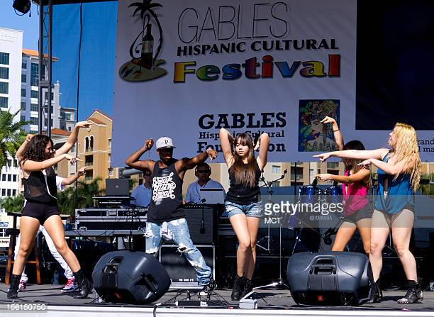 The Hispanic Cultural Festival concert takes place in Coral Gables Florida