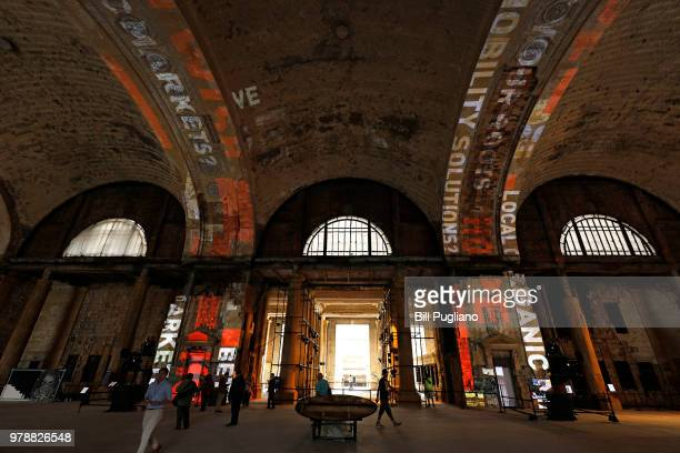 The historic 105year old Michigan Central train station is shown June 19 2018 in Detroit Michigan The station which was recently purchased by the...