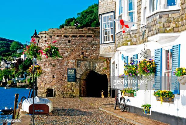 The historic bayards cove in the Devon town of dartmouth.