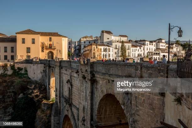 The historic bridge Puente Nuevo and the Old Town in Ronda