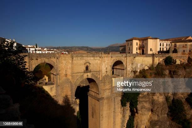 The historic bridge Puente Nuevo in Ronda