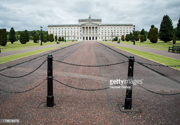 The historic buildings at Stormont, Belfast, now home to the Northern Ireland Assembly. I really liked the barriers preventing vehicular entry.