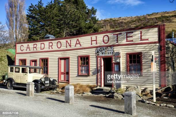 The historic Cardrona Hotel, Otago, New Zealand