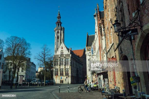 The historic city of Bruges or Brugge in Belgium The largest city of West Flandres in the Flemish region of Belgium The city center is a prominent...
