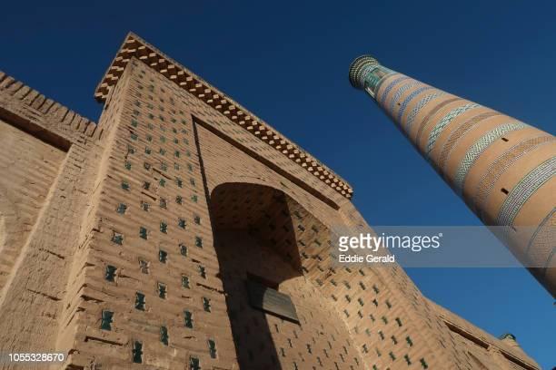 The historic city of Khiva in Uzbekistan