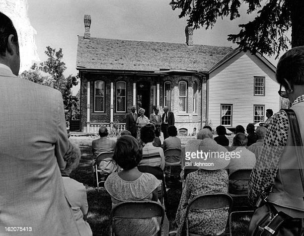 JUL 14 1979 JUL 18 1979 The Historic Four Mile Park Receives Landmark Designation The Four Mile House 715 S Forest St is located in Four Mile...