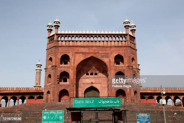 The historic Jama Majid, the main mosque in Delhi and possibly the largest in India remains shut even as preparations begin for the Holy month of...