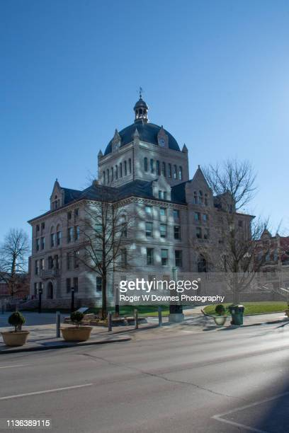 the historic lexington courthouse - lexington kentucky stock pictures, royalty-free photos & images