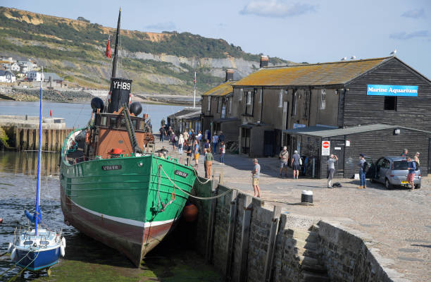 GBR: Preparations Ahead Of Filming For 'Wonka' In South West England