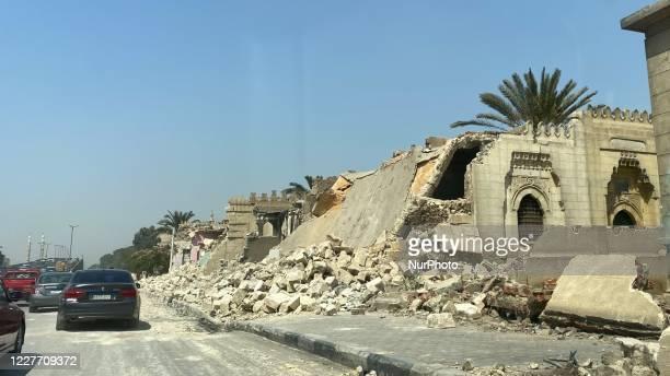 The Historic Mamluks Necropolis in Cairo, Egypt, on July 20, 2020.