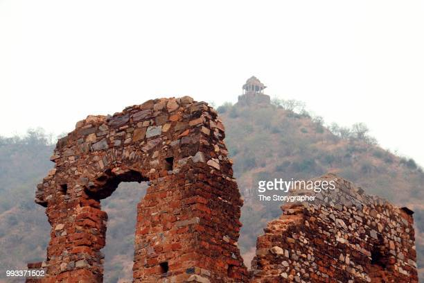 the historic ruins of bhangarh, rajasthan - the storygrapher stock pictures, royalty-free photos & images