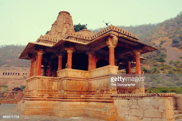 the historic ruins of bhangarh, rajasthan - the storygrapher bildbanksfoton och bilder