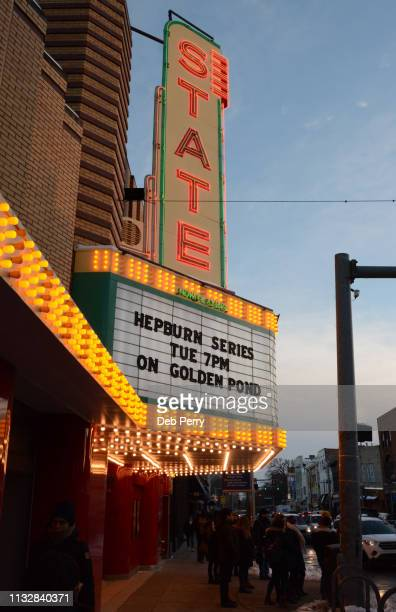 the historic state theater in ann arbor, michigan - ann arbor stock pictures, royalty-free photos & images