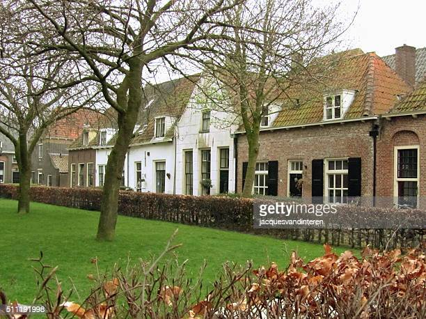 The historic village of Elburg in The Netherlands