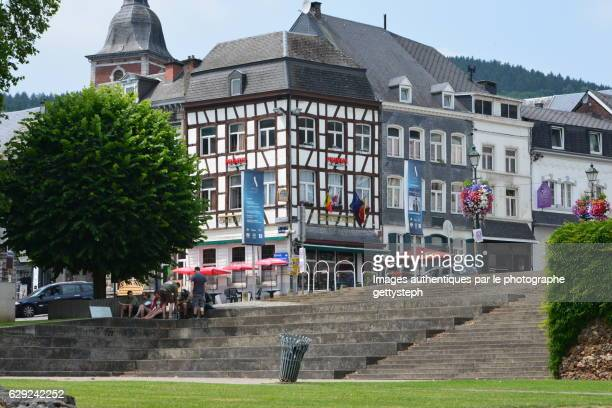 The historical centre of Stavelot