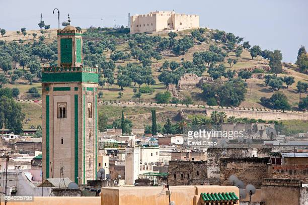 The historical city of Fes, Morocco