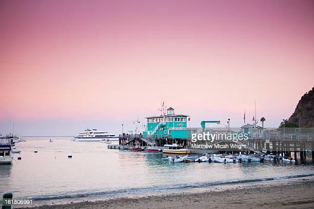 The historical landmark Green Pier in Avalon