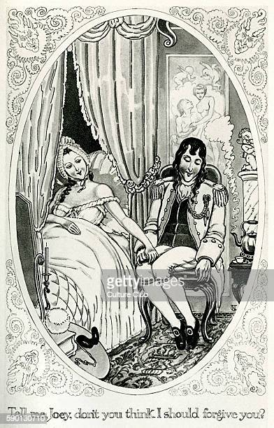The History of the Adventures of Joseph Andrews and his friend Mr Abraham Adams by Henry Fielding Illustration by Norman Tealby Caption readsTell me...