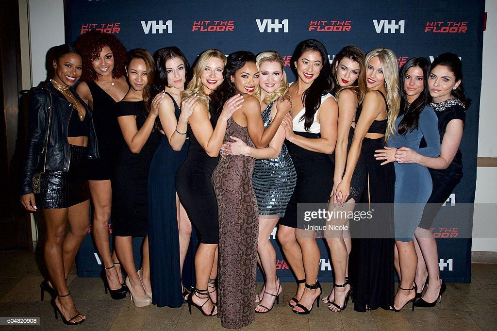 The Hit The Floor Dancers Attend The Premiere Of VH1u0027s U0027Hit The Flooru0027  Season