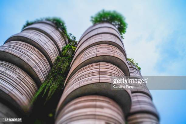 the hive at nanyang technological university, singapore - caroline pang stock pictures, royalty-free photos & images