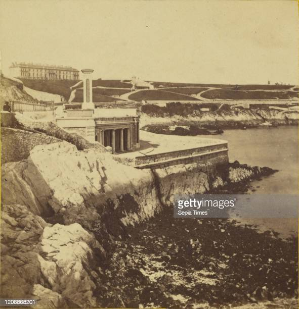 The Hoe, Plymouth, England, William May , 1860-1865, Albumen silver print.