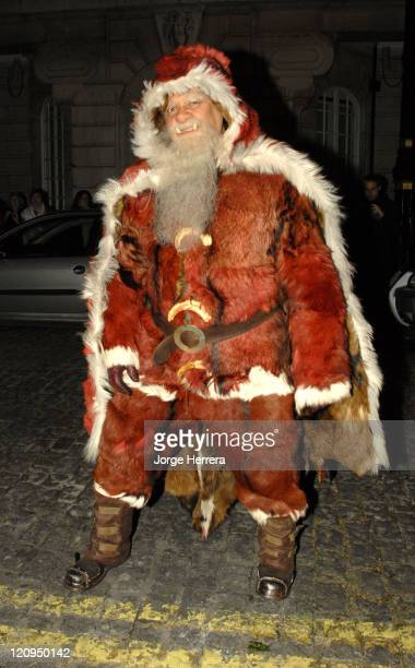 The Hogfather during Terry Pratchett's Hogfather TV Premiere Outside Arrivals at Curzon Mayfair in London Great Britain
