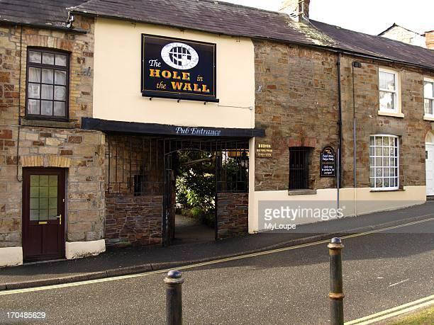 The Hole in the Wall pub which was the Debtors Prison 17491779 Bodmin England United Kingdom