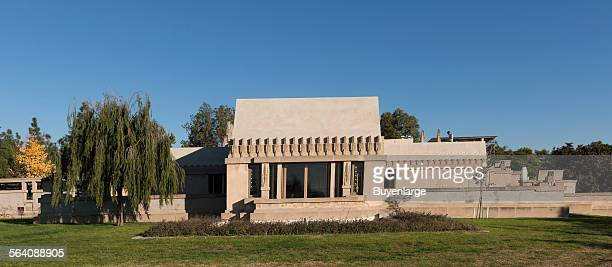 The Hollyhock House in the East Hollywood neighborhood of Los Angeles California