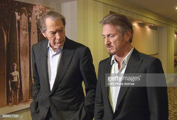 The Hollywood actor and director Sean Penn sat down with Charlie Rose on January 14 2016 in Santa Monica Calif for his first interview about the...