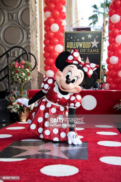 CORPORATE The Hollywood Chamber of Commerce honored Disneys Minnie Mouse today with an official star on the Hollywood Walk of Fame Special guest...