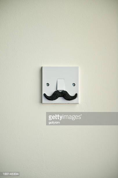 The Hollywood Mustache Light Switch