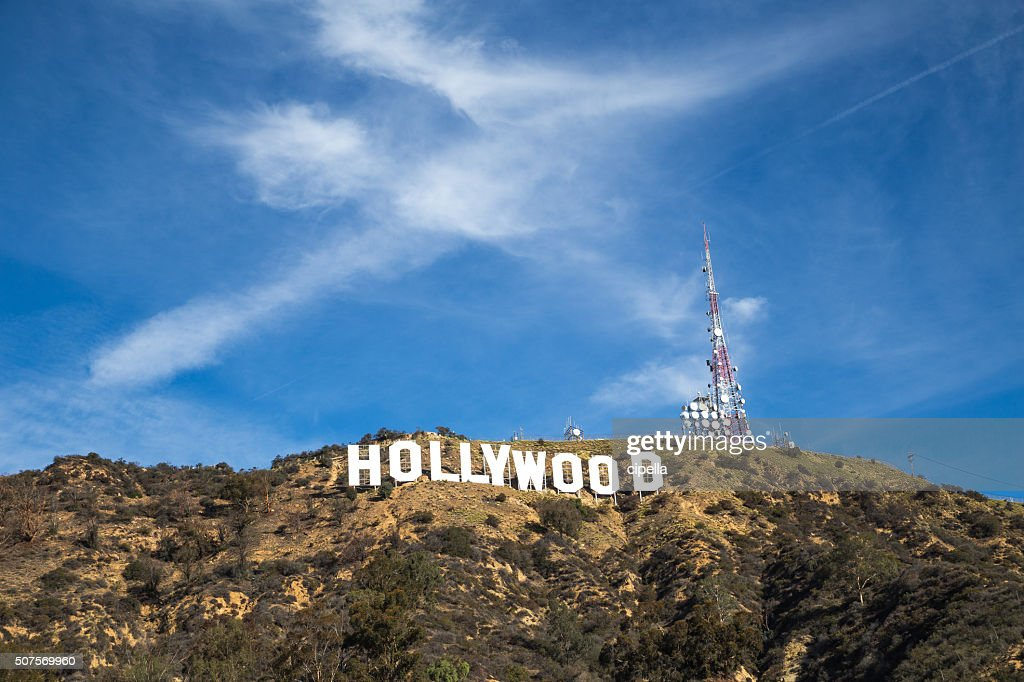 The Hollywood Sign : Stock Photo