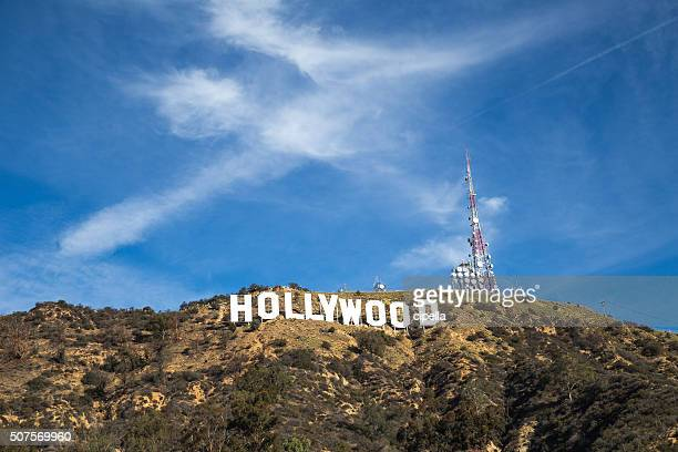 the hollywood sign - hollywood california stock pictures, royalty-free photos & images
