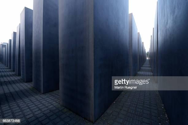 The Holocaust Memorial, Berlin.