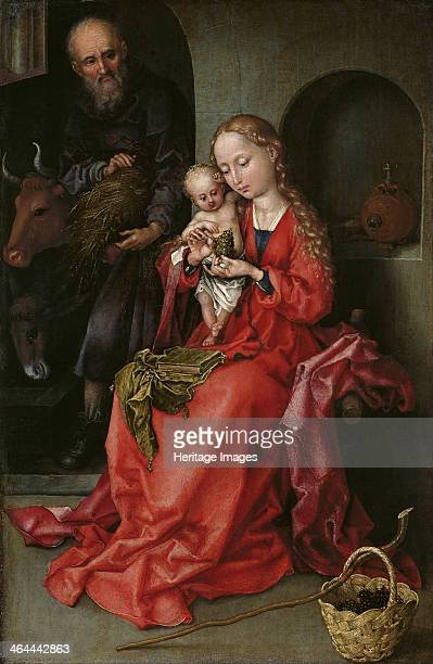 The Holy Family 14801490 Found in the collection of the Art History Museum Vienne