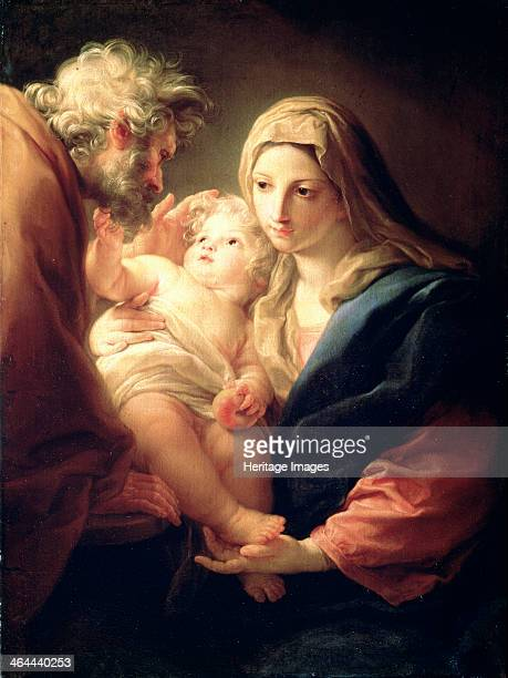 'The Holy Family' 1740s Found in the collection of the State A Pushkin Museum of Fine Arts Moscow