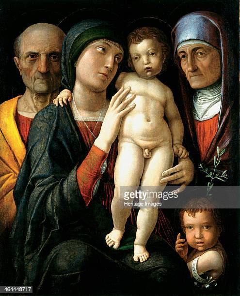 The Holy Family c 1495 Found in the collection of the Dresden State Art Collections