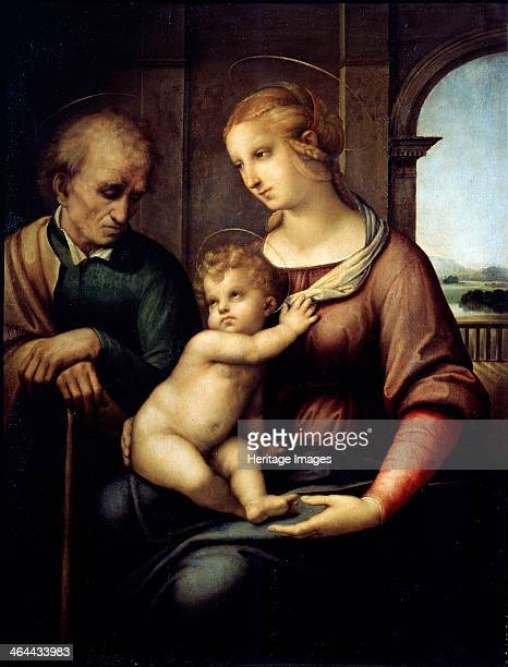 'The Holy Family ' c1505c1506 Found in the collection of the State Hermitage St Petersburg