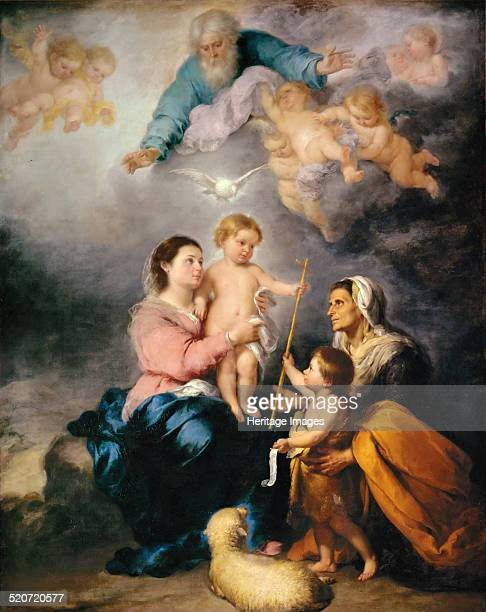 The Holy Family Found in the collection of Louvre Paris